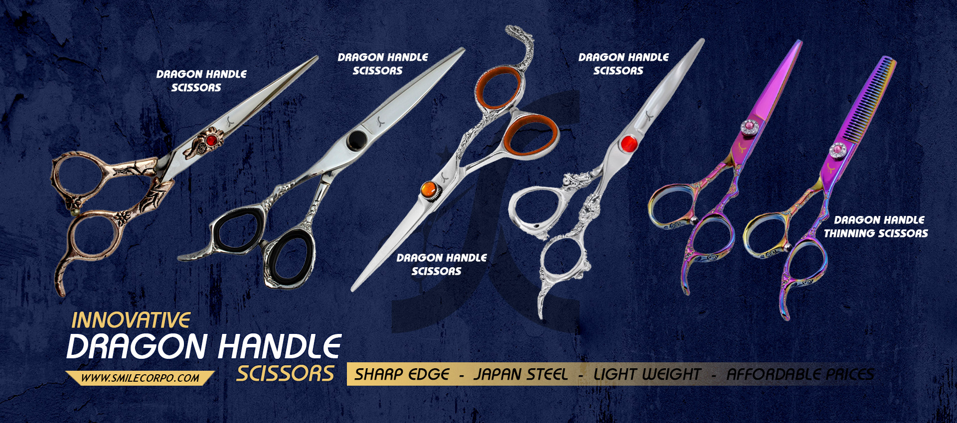 Dragon Handle Scissors