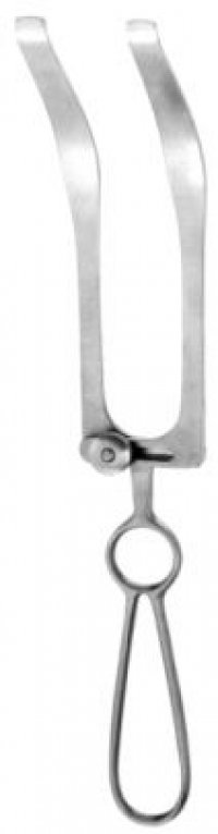 Plate and Chin Retractor dbl palatal adjustable