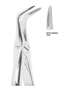 Extracting Forceps With Anatomically Shaped